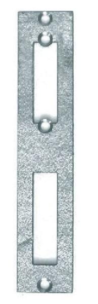 Schließblech für 50er Schlossgehäuse, verzinkt