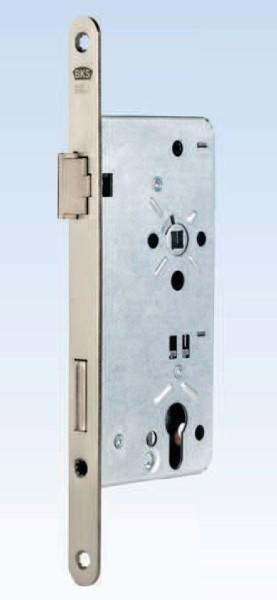 Haustürschloss, D 65mm, Stulp 20mm, DIN Links