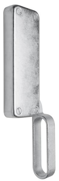 Falttortreibriegel, 165X60mm, Rechts