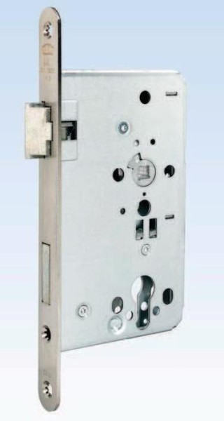 Objektschloss, D60mm, VA-Stulp 24mm, DIN Links