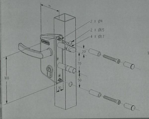 ANSCHRAUBSCHL.70BA,4-LO,GT40,7040