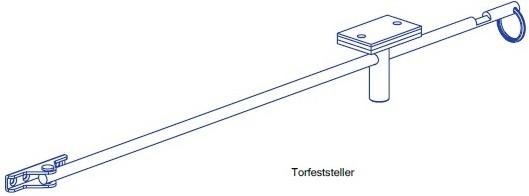 Torfeststeller TSF85 für Garagentore