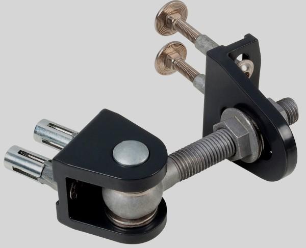BOLTON 4D Torband M16 zum Anschrauben, schwarz beschichtet