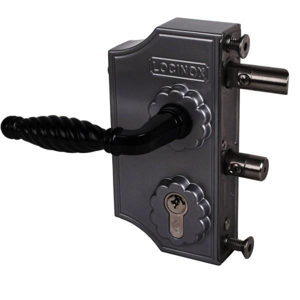 Ziergitterschloss, groß,FL 10-30mm, schwarz