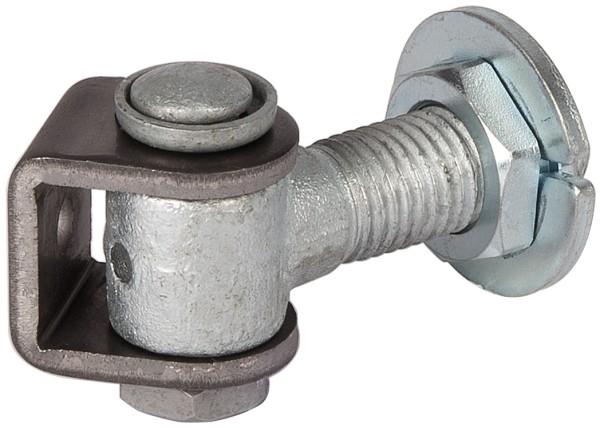 90° Anti-Vandalismus Torband mit Verstellmutter G90LR M16