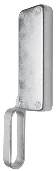 Falttortreibriegel, 165X60mm, Links
