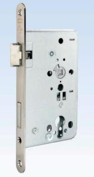 Objektschloss, D65mm, VA-Stulp 24mm, DIN Links