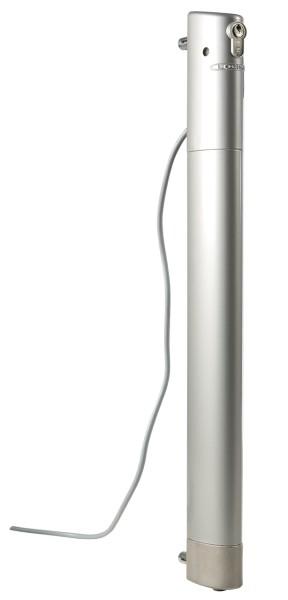Elektrischer Bolzenstangenriegel ELECTRADROP silber