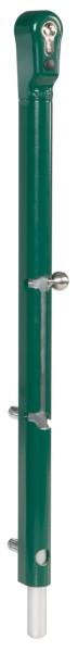 """Bolzen-Stangenriegel """"Keydrop"""" abschließbar, 6005-moosgrün"""