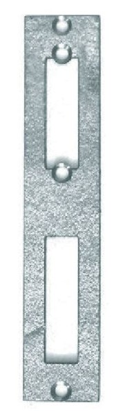 Schließblech für 60er Schlossgehäuse, verzinkt