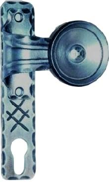 gekröpfter Flachknopf auf Kurzschild, Serie XX