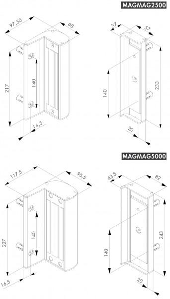 MAGNETSCHLOSS-MAGMAG-2500