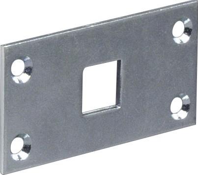 Schließblech für 10 und 13mm Vierkantstange
