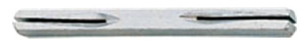 Vollstift, beiseitig gekerbt 8x130