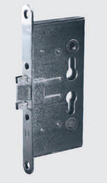 Schloss 1739/27 für Feuerschutztür D65mm VA-Stulp